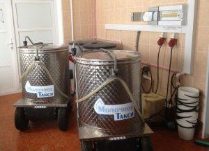 Молочное такси для выпойки телят Basic